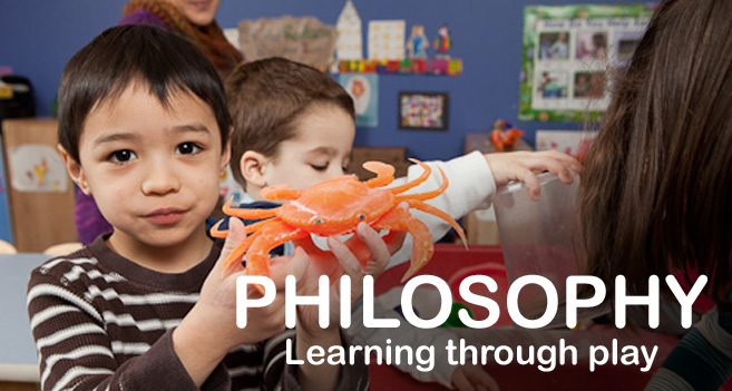 Banner Image: Philosophy - Learning through Play
