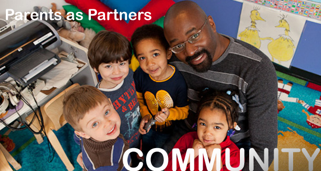Banner Image: Community - Parents as Partners