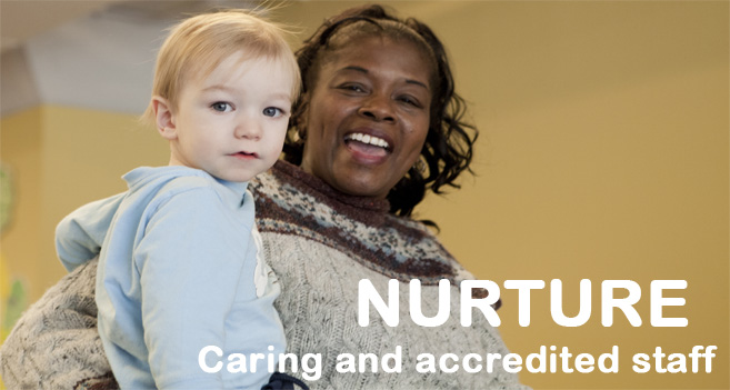 Banner Image: Nurture - Caring and Accredited Staff