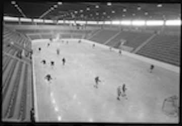 Archival photo of ice rink