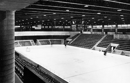 Old photo of Ice Rink
