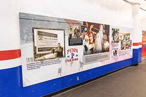 mural at Penn Ice Rink