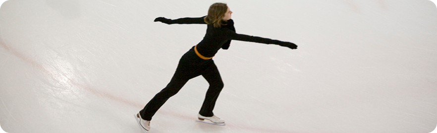 Banner image - photo of figure skater