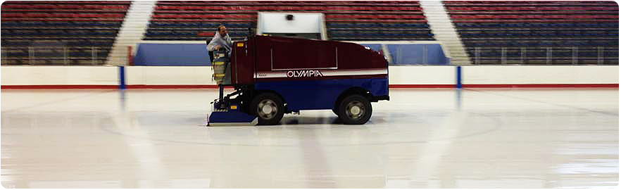 Banner image - photo of Zamboni at arena
