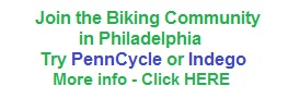 Logo for joining the biking community through PennCycle or Indego