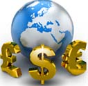 clip art of world currency
