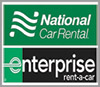National and Enterprise Rental Car Logo
